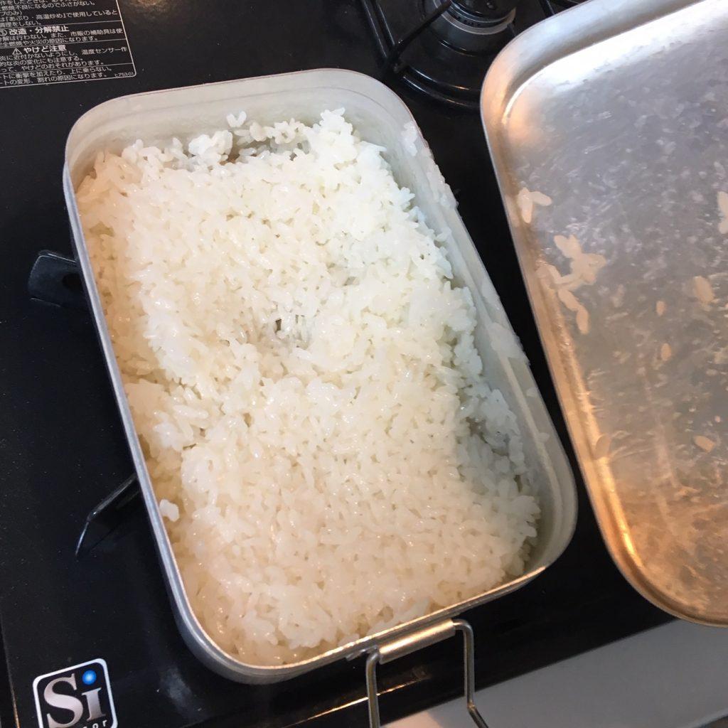 メスティン 炊飯 ラージ